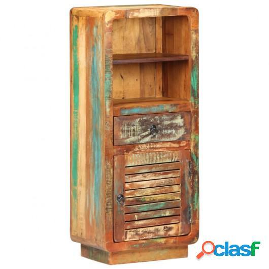 Aparador de madera maciza reciclada 45x32x110 cm