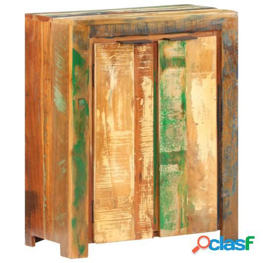 Aparador de madera maciza reciclada 59x33x75 cm