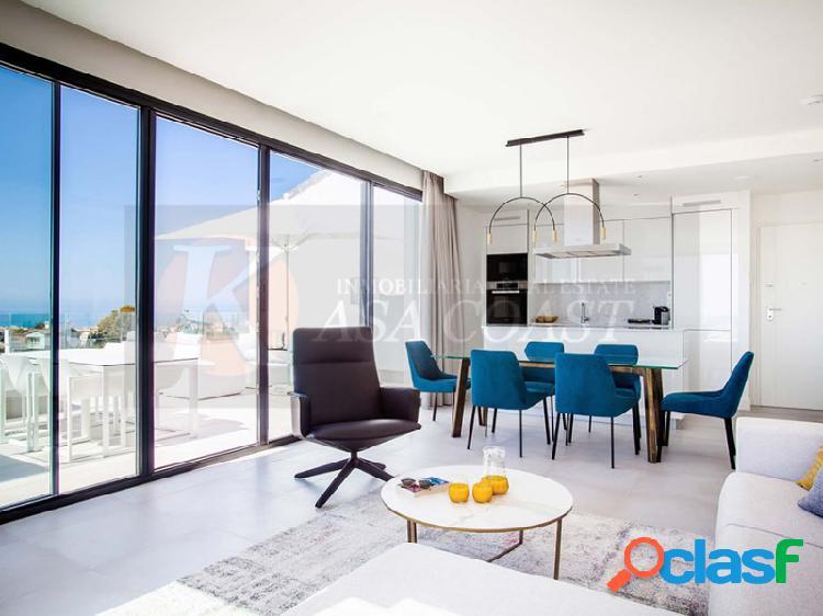 Apartamento de obra nueva en resort de lujo de Mijas Costa.