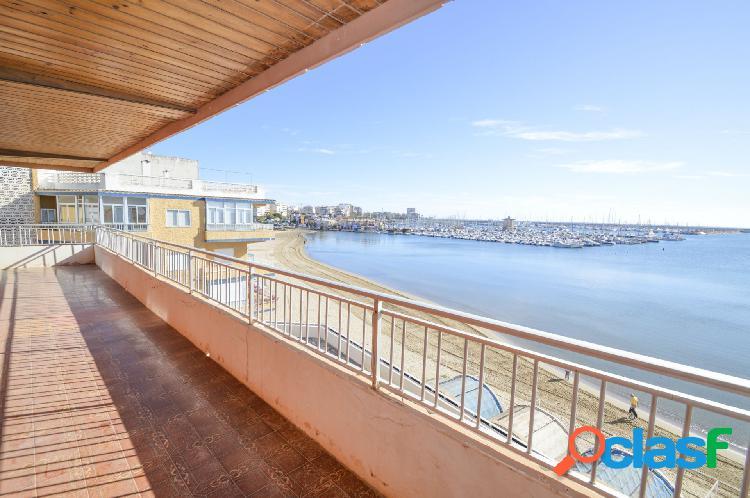 Apartamento en primera línea, Playa Acequión, Torrevieja