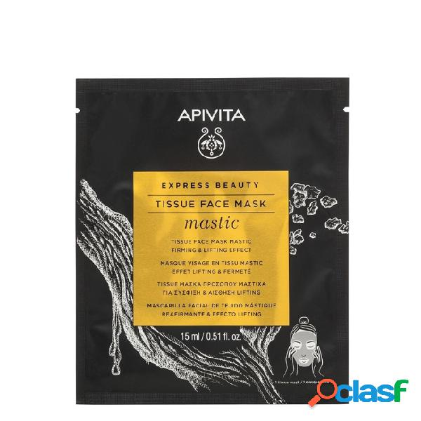 Apivita Express Beauty Tissue Face Mask Mastic Firming &