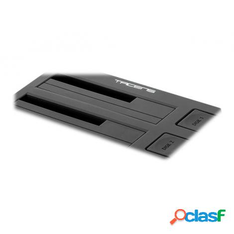"Base de Conexion Disco Duro Tacens DUO II USB 3.0 Sata 2.5"""