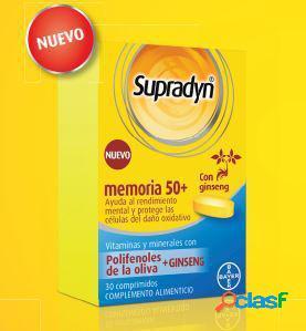 Bayer Supradyn Memoria 50+ 30 comprimidos