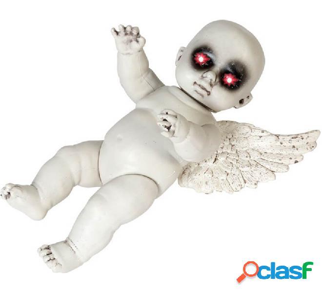 Bebé Ángel Zombie con Alas y Luz de 45 cm