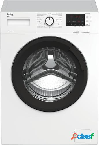 Beko WTA8612XSWR lavadora Independiente Carga frontal Blanco