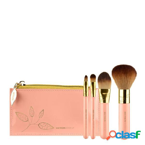 Beter Sweet Chic Collection Brush Set Travel Size 5pcs