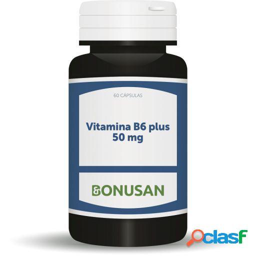 Bonusan Vitamina B6 Plus 20mg 60 Cápsulas
