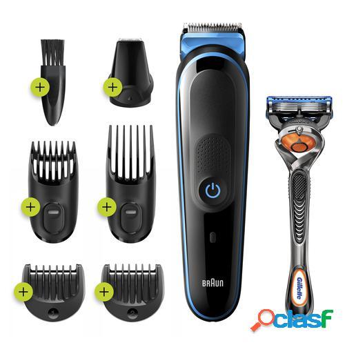 Braun 81705164 cortadora de pelo y maquinilla Negro, Azul
