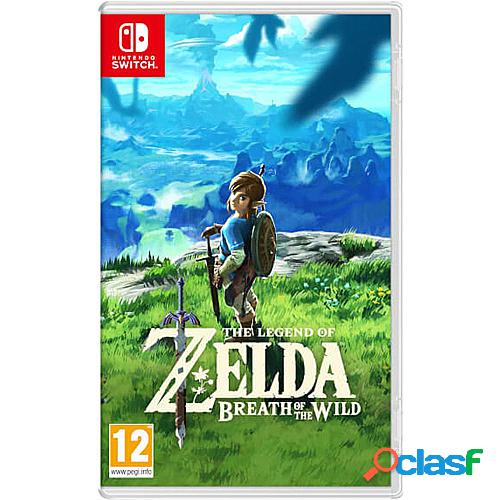 CONSOLA SWITCH THE LENGEND OF ZELDA BREATH OF THE WILD