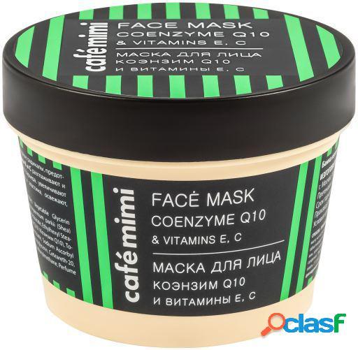 Cafe Mimi Mascarilla Facial Coenzima Q10 y Vitamina e y c