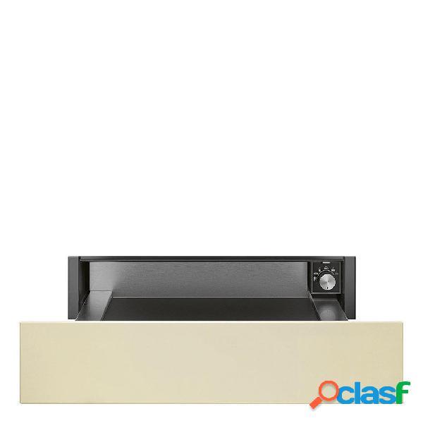 Calienta Platos - Smeg CPR815P Crema altura 14 cm