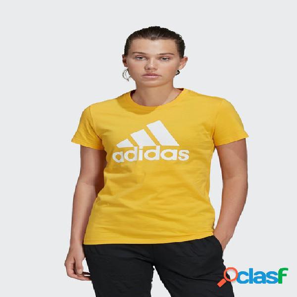 Camiseta casual adidas bos mujer