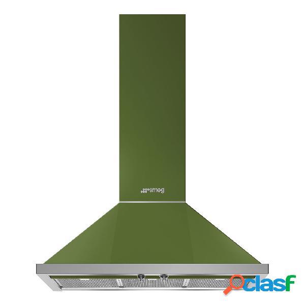 Campana Decorativa - Smeg KPF9OG Eficiencia A+ Verde