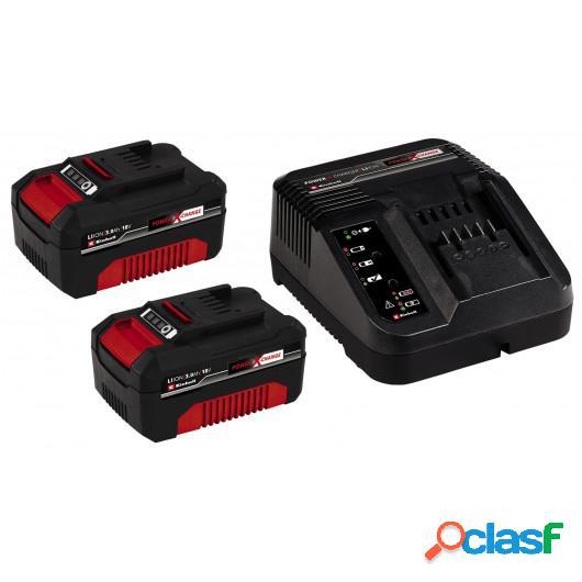 Cargador Bateria Einhell +2 Bateria. 3,0Ah/18V 4512098