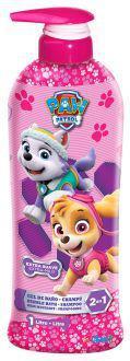 Cartoons Patrol Dog Pink Gel & Shampoo 2 in 1 1000 ml 1 L