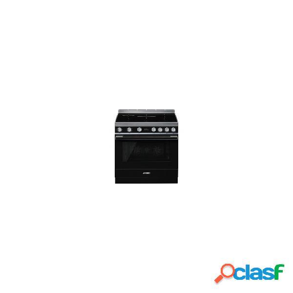 Cocina Inducción - Smeg CPF9IPBL 90 cm 5 zonas Negro