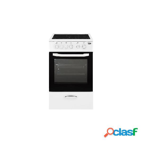 Cocina Vitrocerámica - Beko CSS48100GW 50 cm 3 Blanco