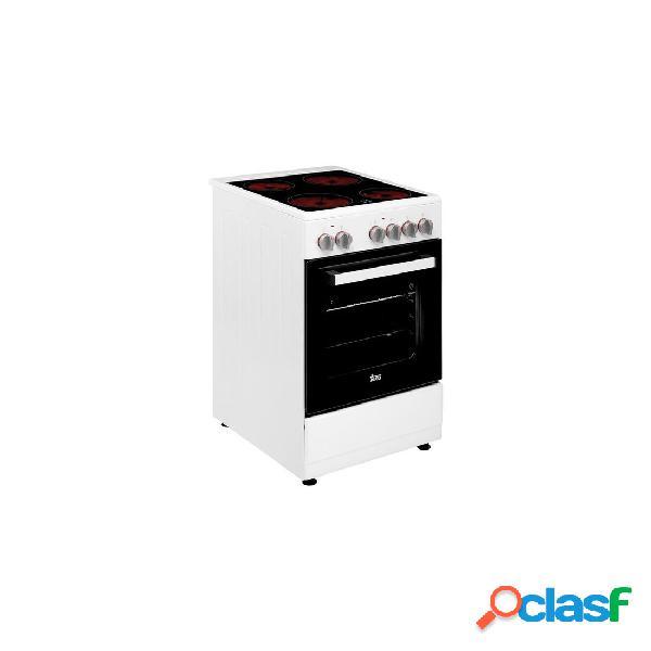 Cocina Vitrocerámica - Teka FS5024VEWH Vitro Blanco