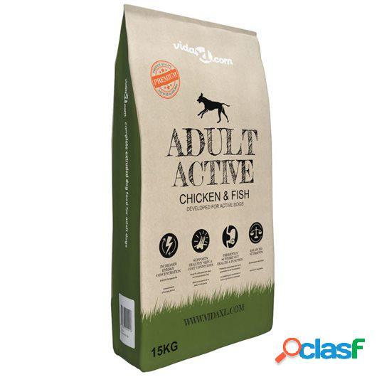 Comida seca para perro premium Adult Active Chicken &amp