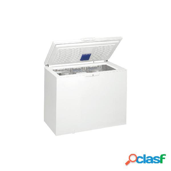 Congelador Arcón - Whirlpool WHE3133 Eficiencia A+ Blanco
