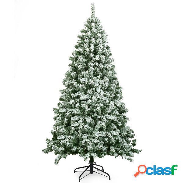 Costway 1 8m Árbol de Navidad con 928 Ramas Abeto