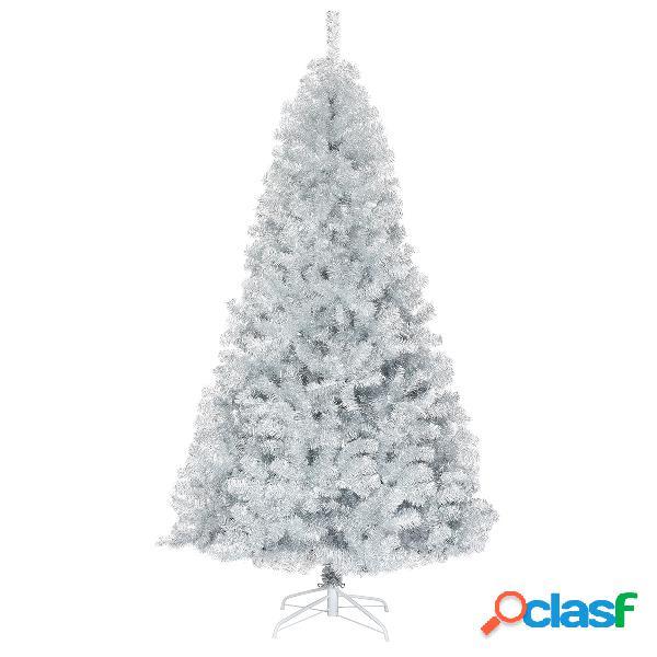 Costway 2 25m Árbol de Navidad con 1258 Ramas Abeto