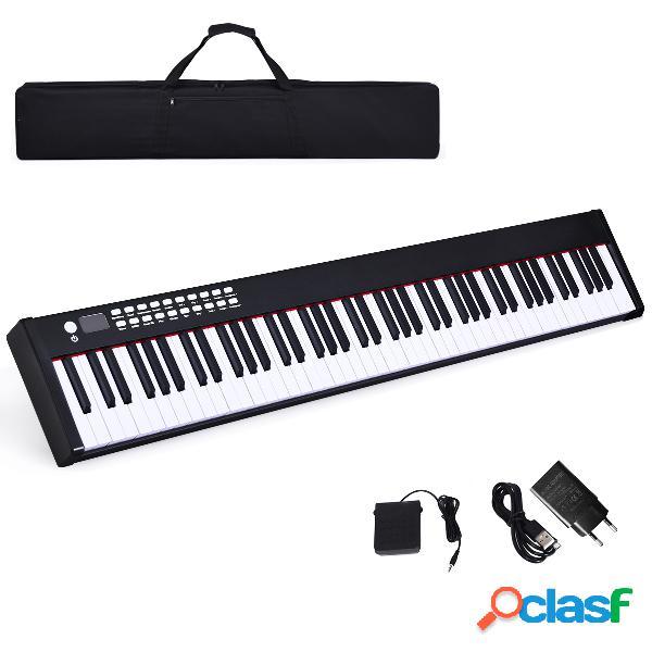 Costway Piano Digital con 88 Teclas y Estuche con Función