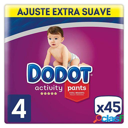 Dodot Activity Extra Pañales Talla 4 45 uds
