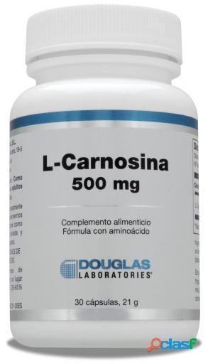Douglas L-Carnosina 500 mg 30 Cápsulas