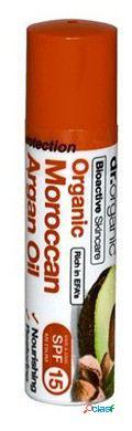 Dr. Organic Bálsamo Labial Aceite de Argán Marroquí 5.7