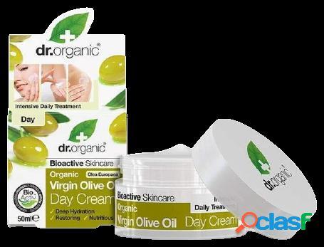Dr Organic Crema de Día Aceite de Oliva Virgen 50 ml