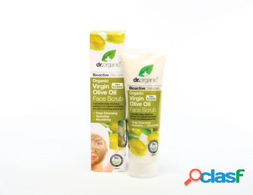 Dr Organic Exfoliante Facial Aceite de Oliva Virgen 125 ml