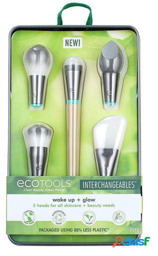 Ecotools Kit Wake Up and Glow Brocha 5 uds