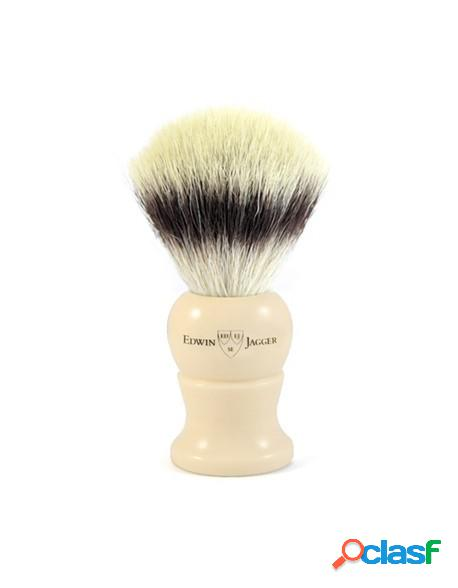 Edwin Jagger Shaving Brush XL Synthetic Silver Tip Fibre