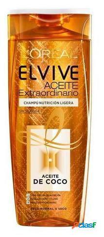 Elvive Elvive Champú Aceite Extraordinario de Coco 370 ml