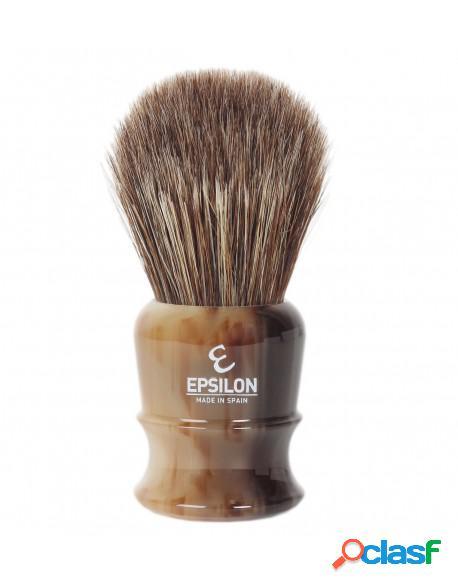 Epsilon Brown Horse Hair Horn Imitation Shaving Brush Knot