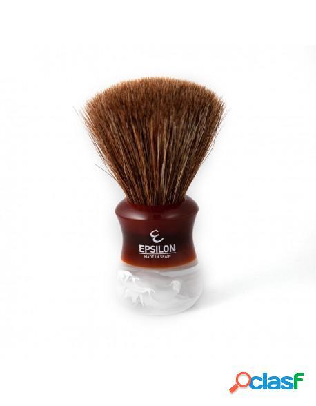 "Epsilon Horse Hair Shaving Brush ""Fan Shape"" 13061MS"