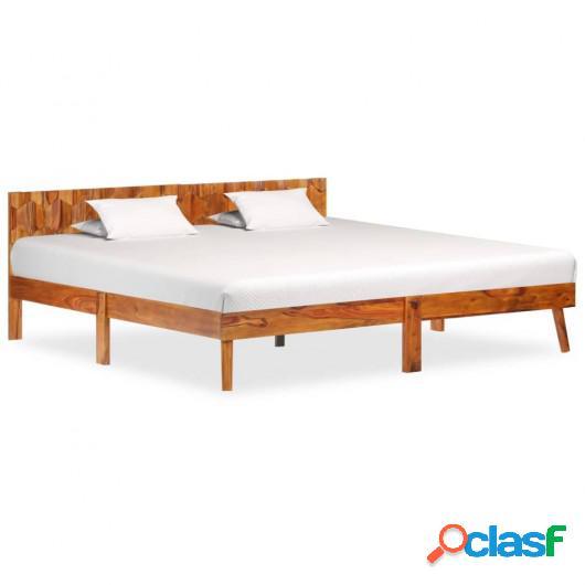 Estructura de cama de madera maciza de sheesham 180x200 cm