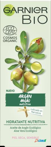 Garnier BIO Crema Hidratante Aceite de Argán, Aloe vera y