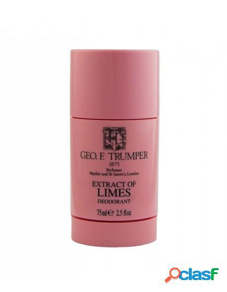 Geo.F.Trumper Extract of Limes Deodorant Stick 75ml