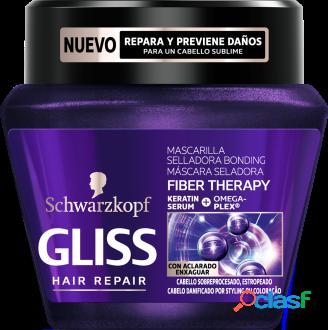 Gliss Gliss Fiber Therapy Mascarilla Keratina Líquida 300