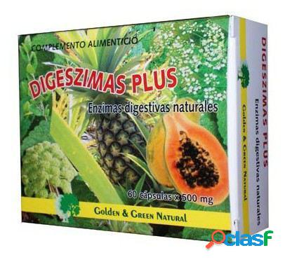 Golden & Green Natural Digeszimas Plus 60 cápsulas