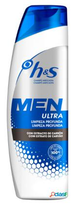 H&S Men Ultra Limpieza Profunda 225 ml