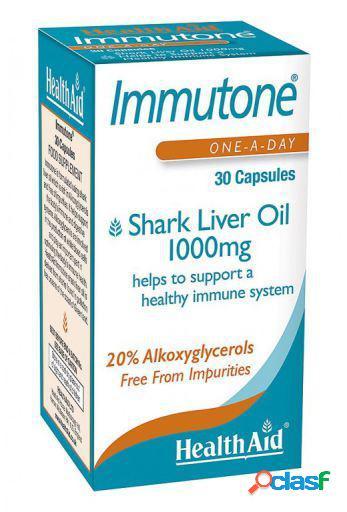 Health Aid Immutone Shark Aceite de Hígado de Tiburón 30