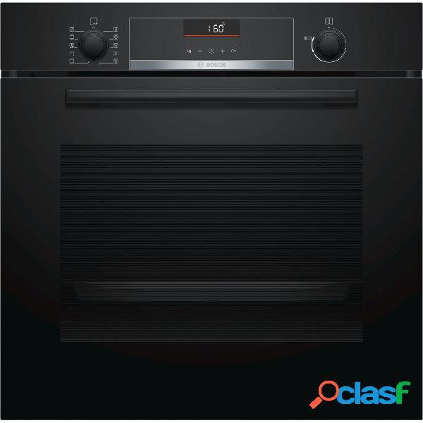 Horno Multifunción - Bosch HBA5360B0 Cristal Negro
