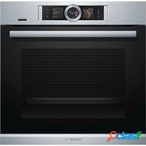 Horno Multifunción - Bosch HRG6769S6 Eficiencia A Acero