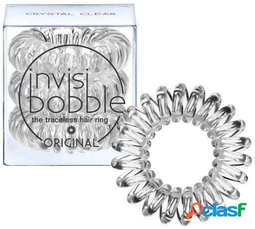 Invisibobble Crystal Clear Hair Rings 3 uds