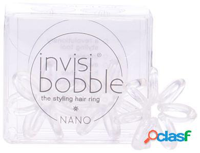 Invisibobble Nano Crystal Clear Hair Rings 3 uds
