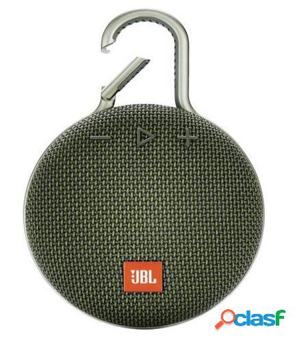 JBL Clip 3 3,3 W Altavoz monofónico portátil Verde