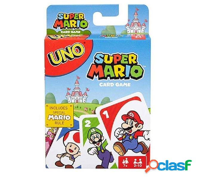 Juego Uno Super Mario Bros